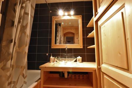 Vacances en montagne Appartement duplex 4 pièces cabine 8 personnes (B21) - Résidence Boulevard - Méribel-Mottaret - Salle de bains