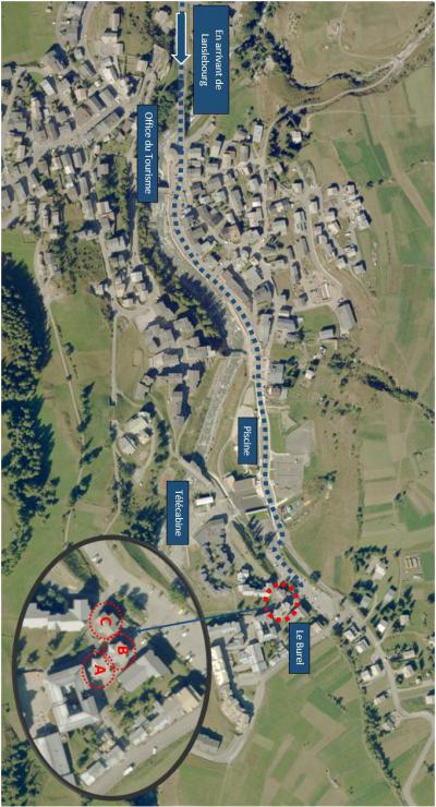 Vacances en montagne Appartement 2 pièces 4 personnes (014) - Résidence Burel - Val Cenis - Plan