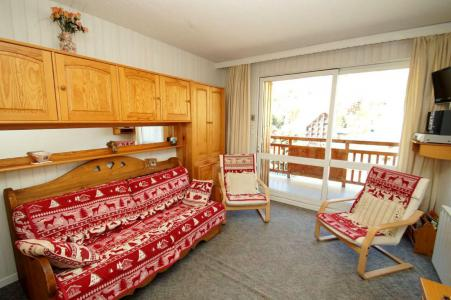 Holiday in mountain resort Studio sleeping corner 5 people (B37) - Résidence Cabourg B - Les 2 Alpes - Settee
