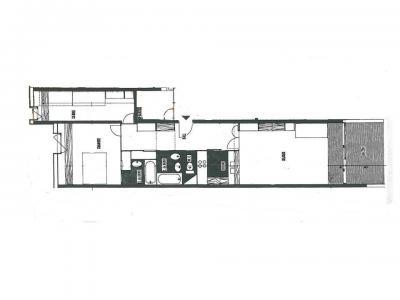 Vacances en montagne Appartement 3 pièces 8 personnes (772R) - Résidence Cachette - Les Arcs - Plan