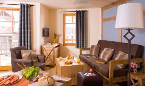 Urlaub in den Bergen Résidence Cami Real - Saint Lary Soulan - Wohnzimmer
