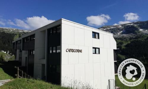 Wakacje w górach Résidence Capricorne - Maeva Home - Flaine - Na zewnątrz latem