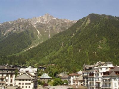 Location au ski Studio 4 personnes - Résidence Carlton - Chamonix - Extérieur été