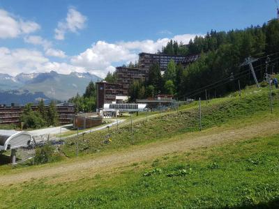Location au ski Studio 2 personnes (522) - Residence Cascade - Les Arcs - Extérieur été