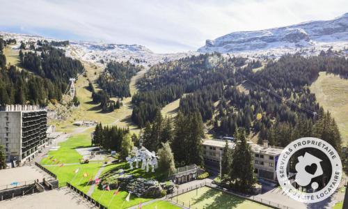 Wakacje w górach Apartament 2 pokojowy 6 osób (Sélection 50m²-7) - Résidence Cassiopée - Maeva Home - Flaine - Na zewnątrz latem