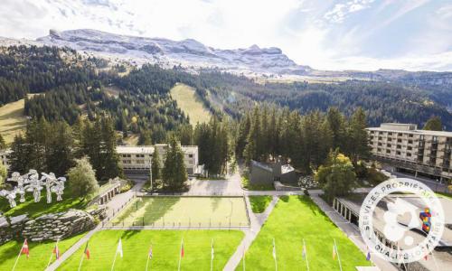 Wakacje w górach Studio 4 osoby (Confort 36m²-7) - Résidence Cassiopée - Maeva Home - Flaine - Na zewnątrz latem