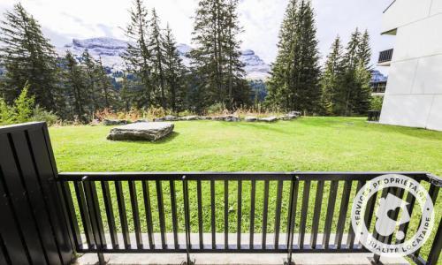 Wakacje w górach Apartament 2 pokojowy 6 osób (Confort 36m²) - Résidence Castor - Maeva Home - Flaine - Na zewnątrz latem