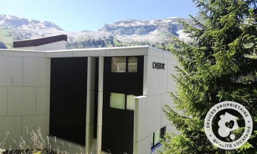 Wakacje w górach Résidence Castor - Maeva Home - Flaine - Na zewnątrz latem