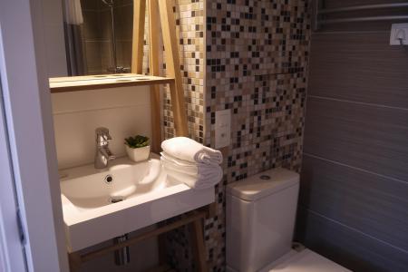 Vacances en montagne Appartement 2 pièces 4 personnes (031) - Résidence Cembros - Méribel-Mottaret - Salle de bains