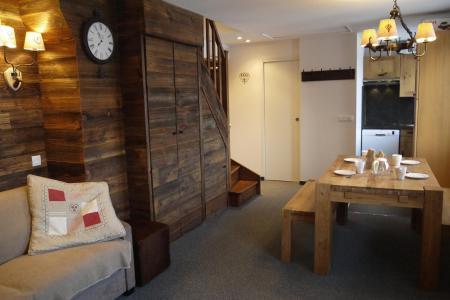 Vacances en montagne Appartement 2 pièces 4 personnes (031) - Résidence Cembros - Méribel-Mottaret - Séjour