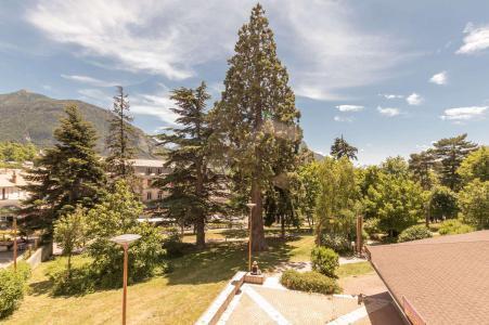 Location au ski Studio 2 personnes (203) - Residence Central Parc 2 - Serre Chevalier - Extérieur été
