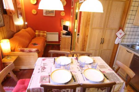 Holiday in mountain resort 2 room apartment 4 people (CST24) - Résidence Central Station - Montgenèvre - Living room