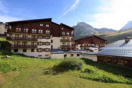 Rent in ski resort Studio 2 people (449CL) - Résidence Chalet Club - Tignes - Summer outside