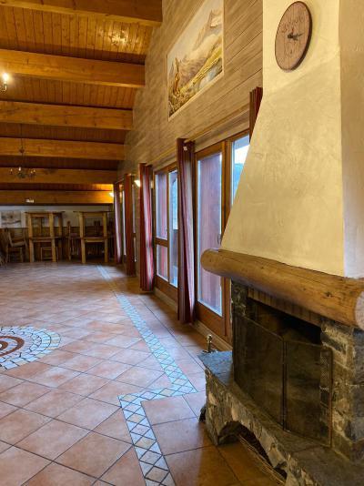 Vakantie in de bergen Chalet 13 kamers 24 personen (Bonhomme) - Résidence Chalet des Neiges Hermine - Val Thorens - Woonkamer