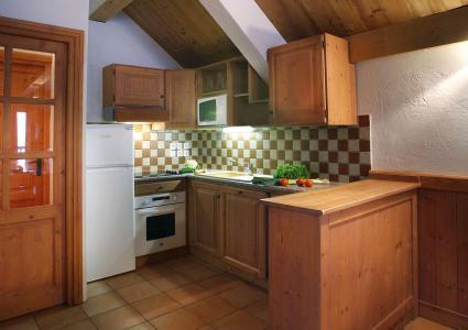 Urlaub in den Bergen Résidence Chalet des Neiges - Oz en Oisans - Küche