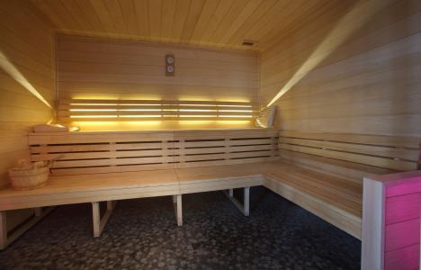 Vacances en montagne Résidence Chalet des Neiges la Source des Arcs - Les Arcs - Sauna