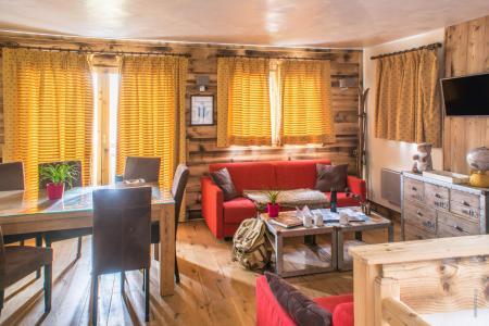 Vacances en montagne Appartement duplex 4 pièces 8 personnes (13) - Résidence Chalet le Cristallo - Val Thorens - Séjour