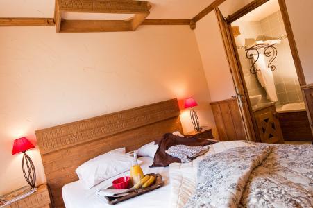 Vacances en montagne Résidence Chalet le Refuge la Rosière - La Rosière - Chambre