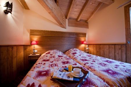 Vacances en montagne Résidence Chalet le Refuge la Rosière - La Rosière - Chambre mansardée