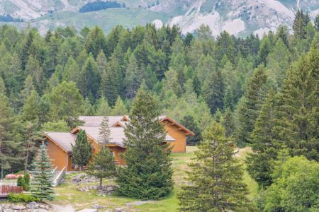 Holiday in mountain resort Résidence Chalets Margot - Superdévoluy - Summer outside