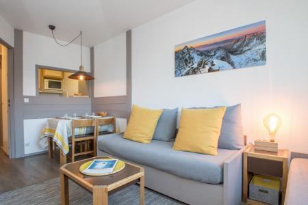 Vacances en montagne Appartement 2 pièces 4 personnes (CROCUS) - Résidence Chamois Blanc - Chamonix - Logement
