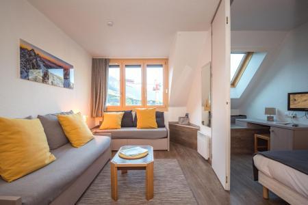 Vacances en montagne Appartement 2 pièces 4 personnes (CROCUS) - Résidence Chamois Blanc - Chamonix - Séjour