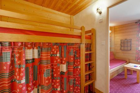 Urlaub in den Bergen Studio Schlafnische 3 Personen - Résidence Champamé - Les 2 Alpes - Einfaches Mezzanine Bett