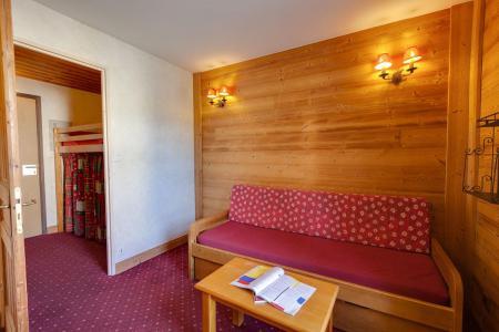 Urlaub in den Bergen Studio Schlafnische 3 Personen - Résidence Champamé - Les 2 Alpes - Wohnzimmer
