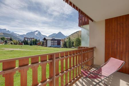 Urlaub in den Bergen Studio Schlafnische 4 Personen - Résidence Champamé - Les 2 Alpes - Balkon