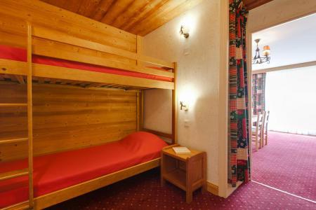 Urlaub in den Bergen Studio Schlafnische 4 Personen - Résidence Champamé - Les 2 Alpes - Stockbetten