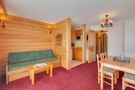 Urlaub in den Bergen Studio Schlafnische 4 Personen - Résidence Champamé - Les 2 Alpes - Wohnzimmer