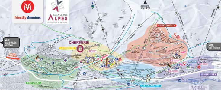 Vacances en montagne Résidence Cherferie - Les Menuires