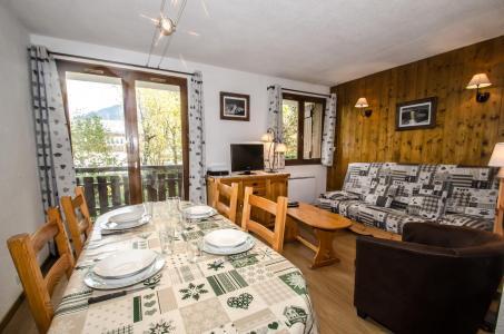 Vacances en montagne Appartement 2 pièces 4 personnes - Résidence Choucas - Chamonix - Séjour