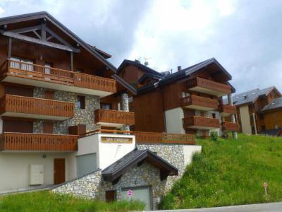 Location au ski Appartement 3 pièces cabine 6 personnes (11) - Residence Choucas - Peisey-Vallandry - Extérieur été