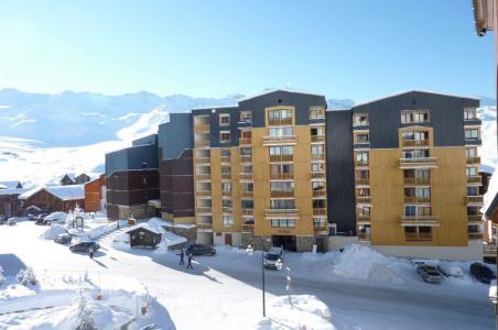 Vacances en montagne Studio cabine 4 personnes (2100) - Résidence Cimes de Caron - Val Thorens - Séjour