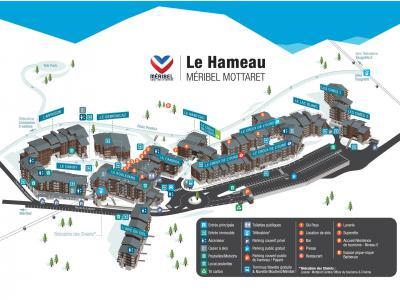 Vacances en montagne Résidence Cimes II - Méribel-Mottaret - Plan