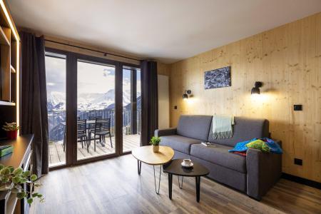 Vacances en montagne Résidence Club MMV l'Etoile des Sybelles - Le Corbier - Banquette