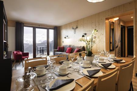 Vacances en montagne Résidence Club MMV l'Etoile des Sybelles - Le Corbier - Coin repas