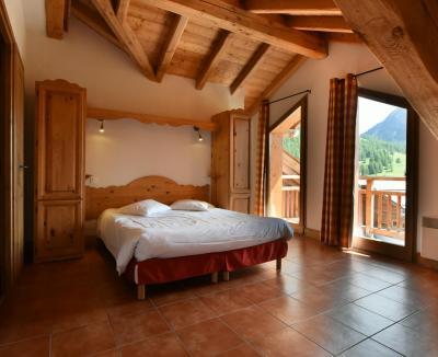 Vacances en montagne Résidence Club MMV le Hameau des Airelles - Montgenèvre - Chambre mansardée