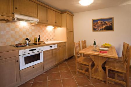 Vacances en montagne Résidence Club MMV le Hameau des Airelles - Montgenèvre - Cuisine ouverte
