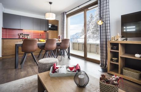 Vacances en montagne Résidence Club MMV Les Chalets des Cîmes - Les Saisies - Cuisine ouverte