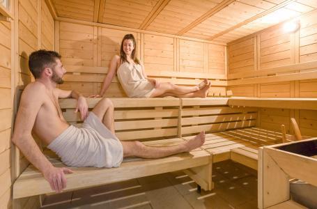 Urlaub in den Bergen Résidence Club MMV les Clarines - Les 2 Alpes - Sauna