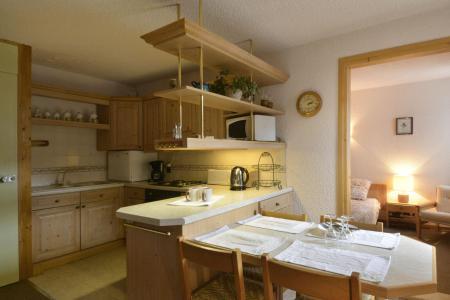 Wakacje w górach Apartament 2 pokojowy 5 osób (654) - Résidence Corail - La Plagne - Kuchnia otwarta