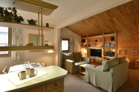Wakacje w górach Apartament 2 pokojowy 5 osób (654) - Résidence Corail - La Plagne - Salon
