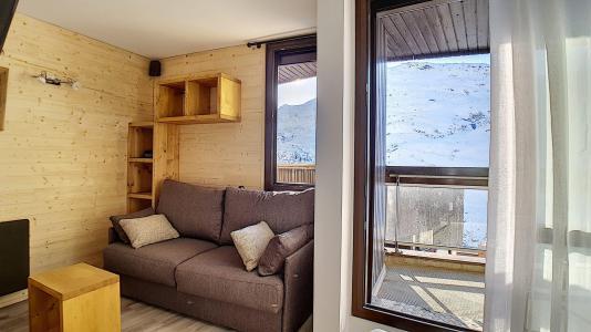 Vacances en montagne Appartement 2 pièces coin montagne 4 personnes (443) - Résidence Coryles A - Les Menuires - Banquette