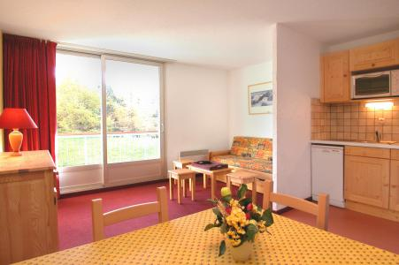 Urlaub in den Bergen Studio Schlafnische 4 Personen - Résidence Côte Brune - Les 2 Alpes - Kochnische