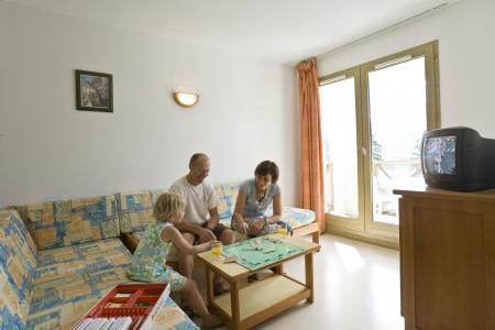 Vacances en montagne Résidence Couleurs Soleil - Oz en Oisans - Canapé