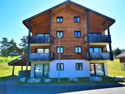 Аренда на лыжном курорте Апартаменты 2 комнат 6 чел. (112) - Résidence Crête du Berger - La Joue du Loup - летом под открытым небом
