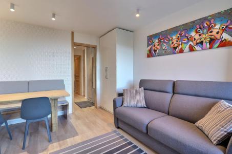 Vacances en montagne Appartement 2 pièces 4 personnes (084) - Résidence Creux de l'Ours Bleu - Méribel-Mottaret - Banquette