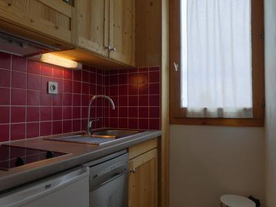 Vacances en montagne Appartement 2 pièces 4 personnes (A19) - Résidence Creux de l'Ours Rouge - Méribel-Mottaret - Kitchenette